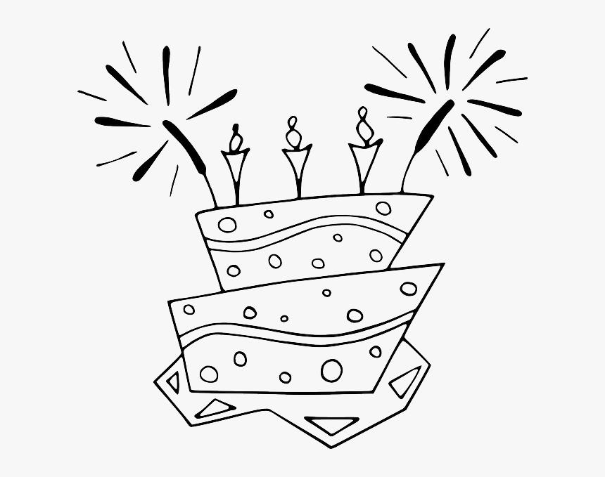 Pleasing Clip Art Birthday Cake Clip Art Free Black And White Birthday Funny Birthday Cards Online Overcheapnameinfo