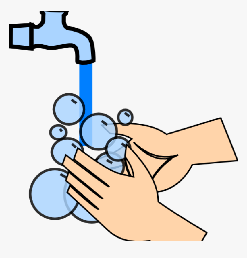 Hand Wash Clip Art Hand Washing Clip Art At Clker Vector