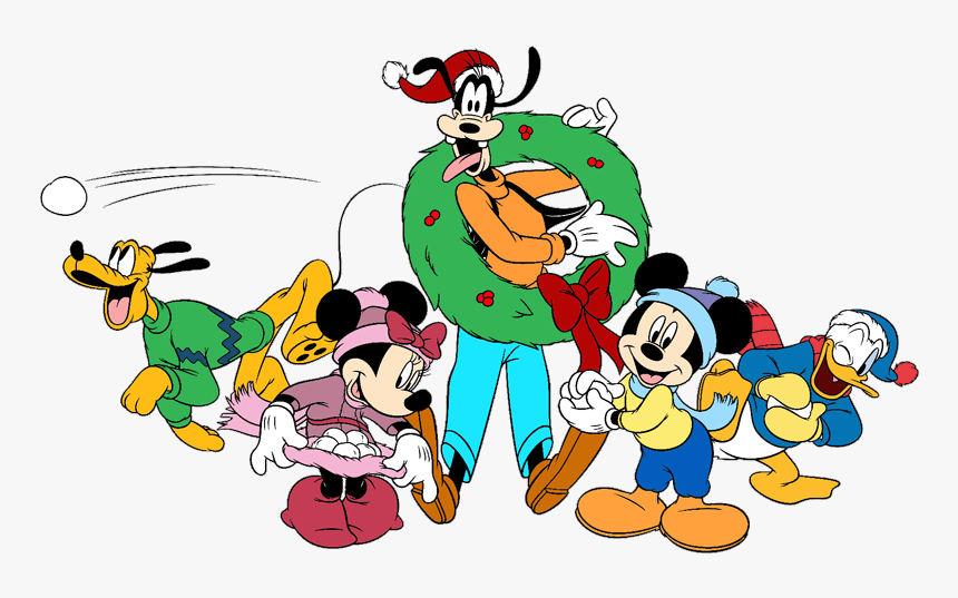 Mickey Mouse Goofy Christmas Hd Png Download Transparent Png Image Pngitem