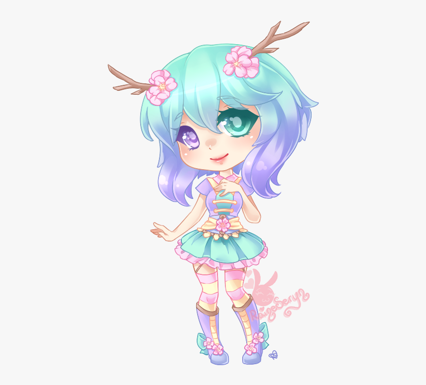 Fille Dessin Kawaii Chibi Hd Png Download Transparent Png