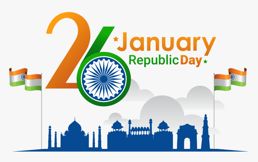 26 january image hd png republic day -  january th republic day, hd png download