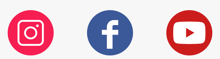 Social Media Logos Instagram Facebook Youtube Icons Cross Hd Png Download Transparent Png Image Pngitem