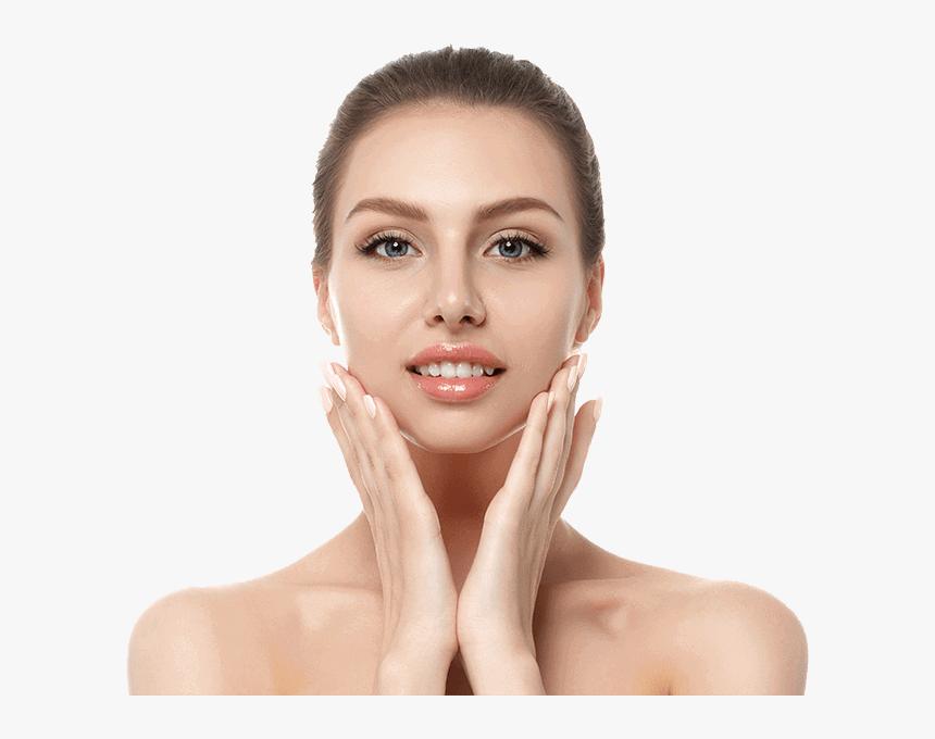 Zemits Verstand Beauty Glowing Skin Models Skin Care Hd Png Download Transparent Png Image Pngitem