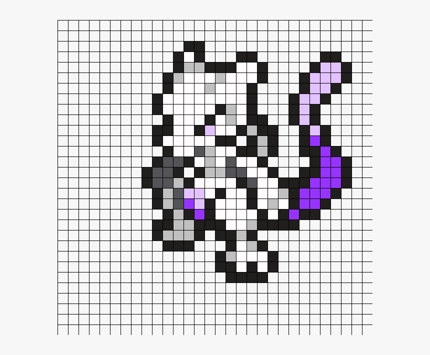 Small Pokemon Pixel Art Mewtwo Pixel Art Pokemon Mewtwo Hd Png Download Transparent Png Image Pngitem