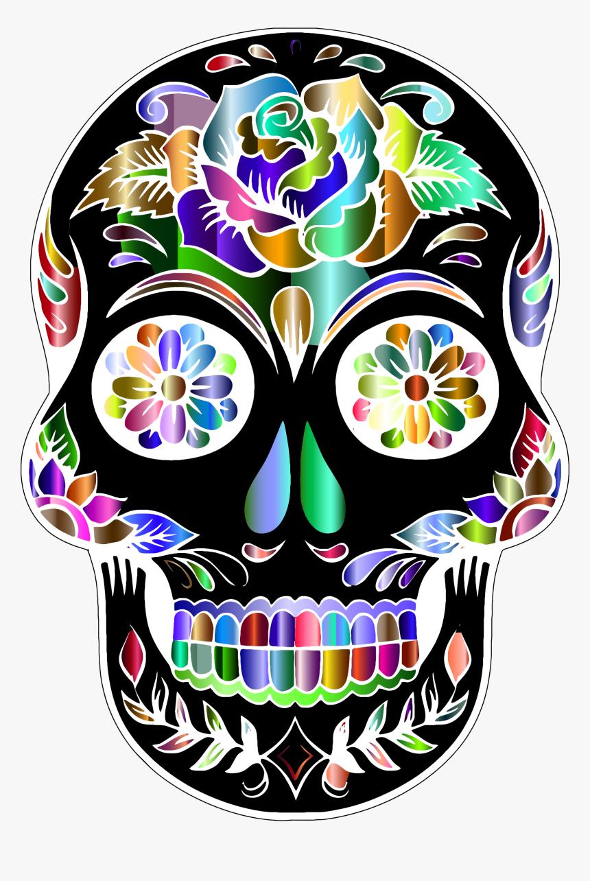 foto de Clip Art Calavera Skull Computer Icons Sugar Skulls Clipart HD Png Download Transparent Png