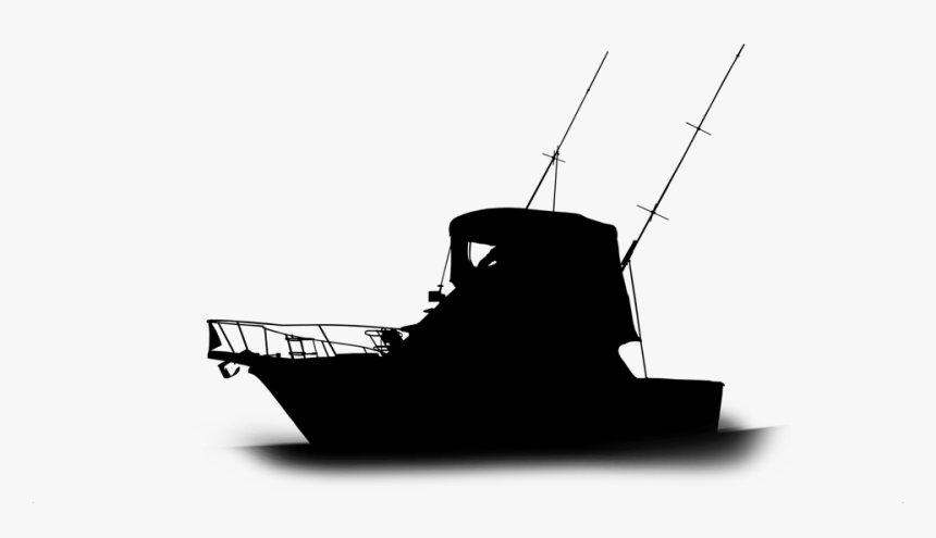 Transparent Ship Silhouette Png Fishing Boat Silhouette Png Png Download Transparent Png Image Pngitem