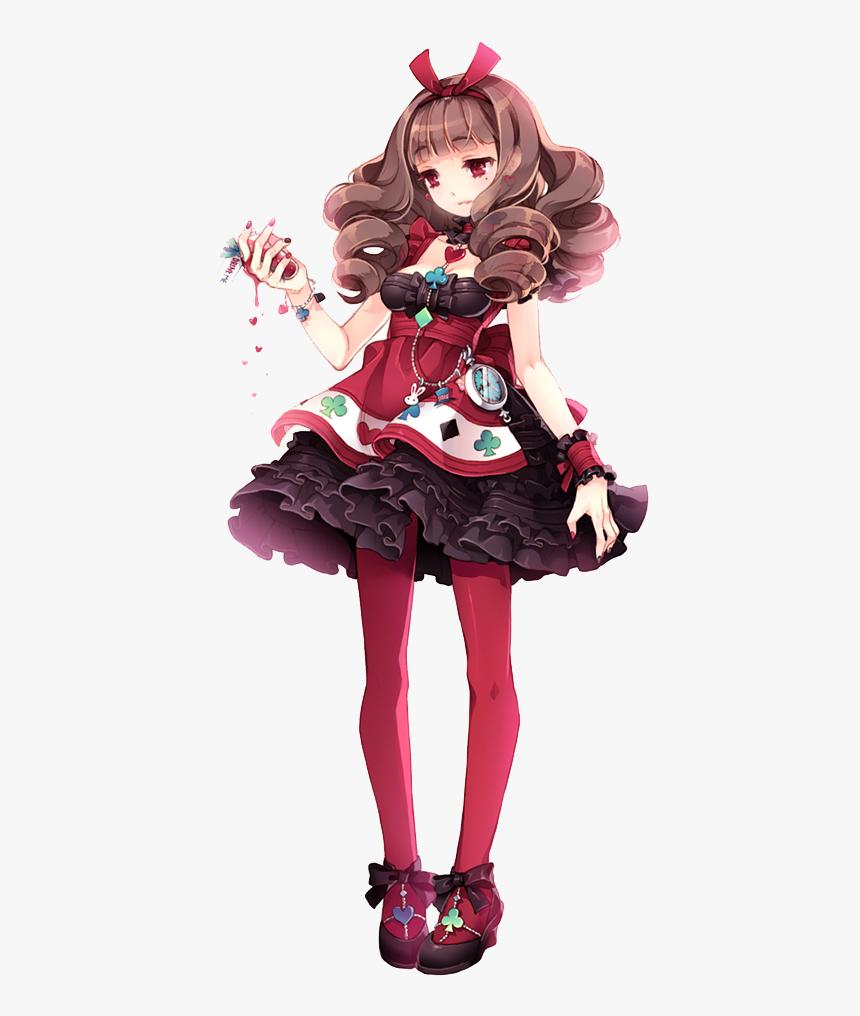 Anime Alice In Wonderland Queen Of Hearts, HD Png Download