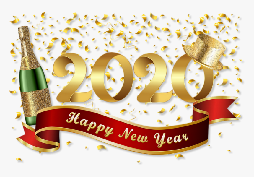 12++ New Year Clipart 2020