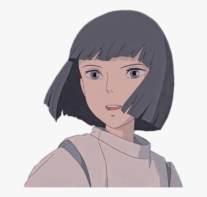 Anime Animegirl Animeaesthetic Animegrunge Animeedits Haku Spirited Away Hd Png Download Transparent Png Image Pngitem