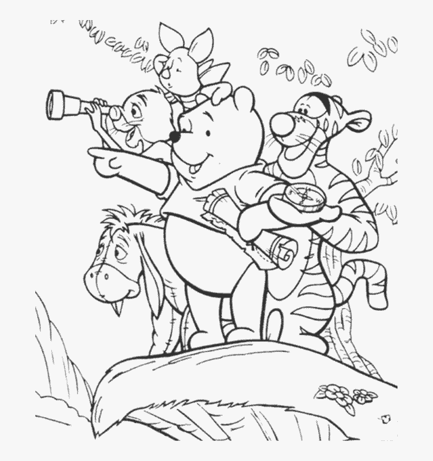 - Free Printable Coloring Pages Of Winnie The Pooh And - Capa De