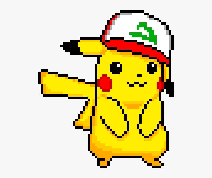 Pikachu Pixel Art Maker Pikachu Pixel Art Png Transparent