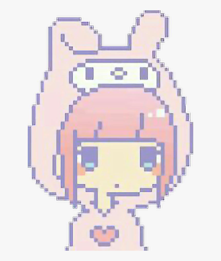 Anime Pixel Art Easy Hd Png Download Transparent Png Image Pngitem