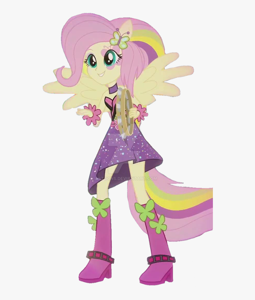 My Little Pony Equestria Girl Rainbow Rocks Fluttershy Hd Png Download Transparent Png Image Pngitem