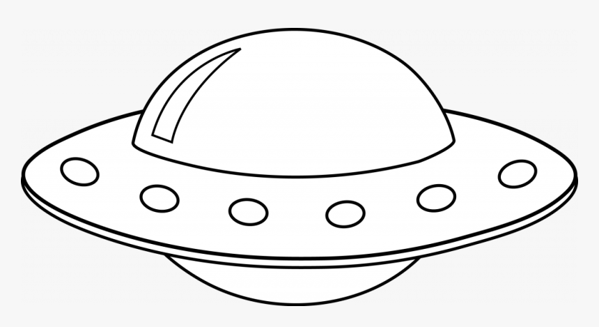 Png Download Transparent Ufo White Background Ufo Cartoon Black And White Png Download Transparent Png Image Pngitem