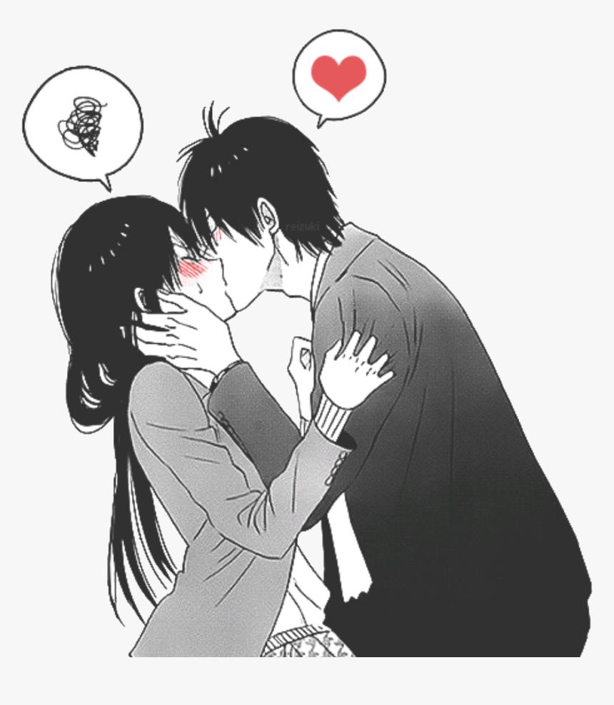 Anime Kawaii Girl Kiss - Anime Wallpaper HD