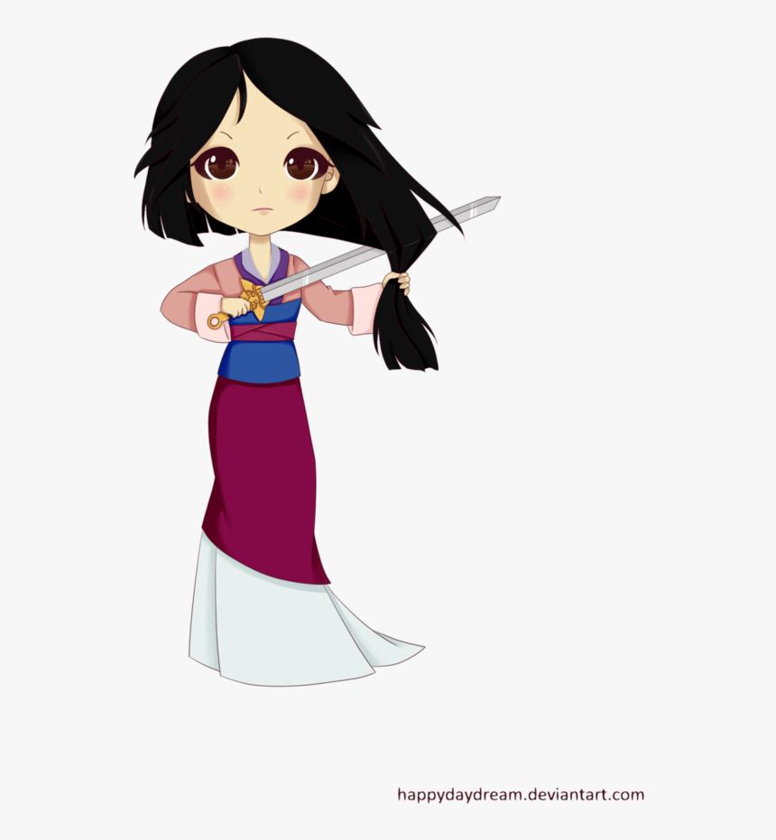 Mulan Drawing Ink Mulan Chibi Hd Png Download Transparent Png Image Pngitem