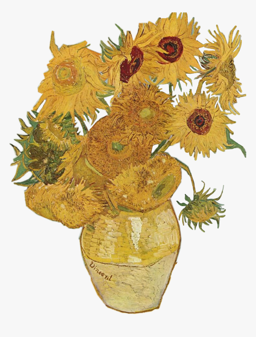 Scsunflower Sunflower Flower Png Aesthetic Tumblr Vincent