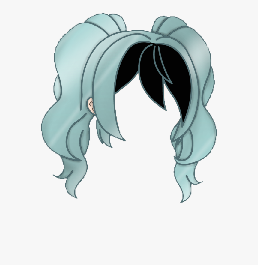 Gacha Gachalife Hair Hairstyle Gachahaur Girlhair Gacha Life Hair Ideas Hd Png Download Transparent Png Image Pngitem
