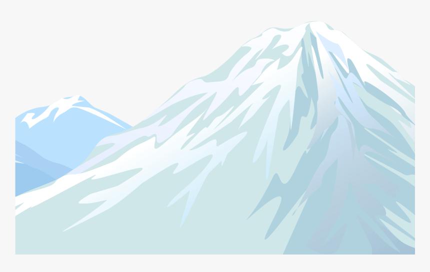 Winter Snowy Mountain Transparent Png Clip Art Image Summit Png Download Transparent Png Image Pngitem