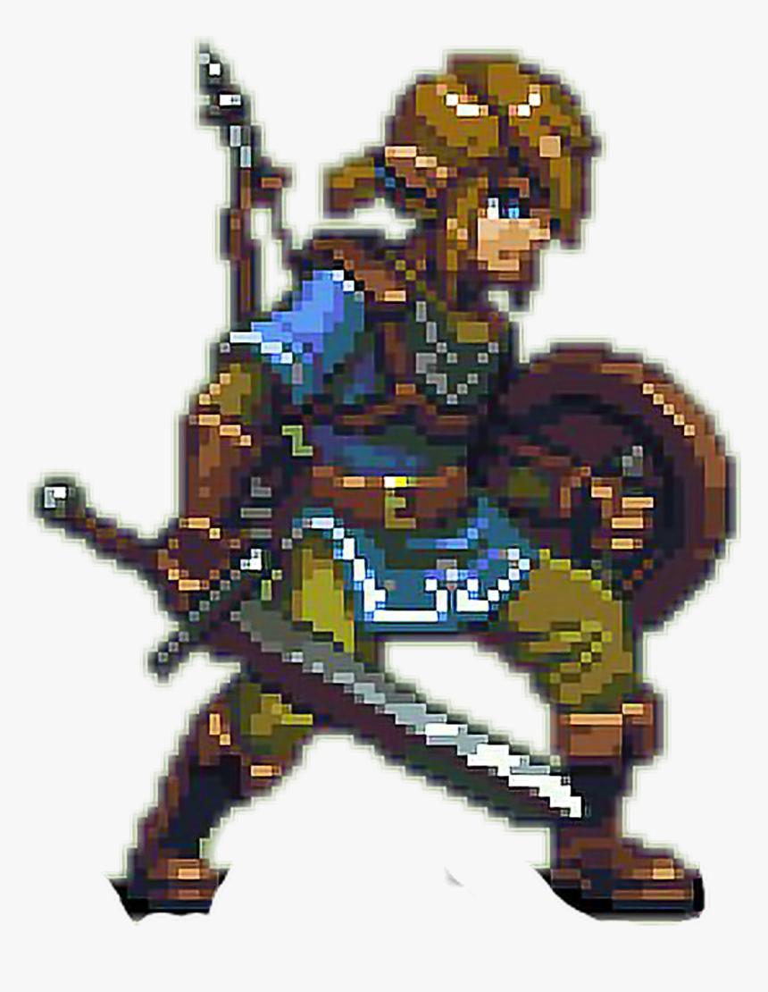 Link Zelda Pixel 8bit Nintendo Pixel Art Link Botw Hd