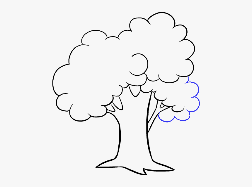 How To Draw A Tree Cartoon Black And White Hd Png Download Transparent Png Image Pngitem Download this free vector about old tree cartoon illustration, and discover more than 10 million professional graphic resources on freepik. how to draw a tree cartoon black and
