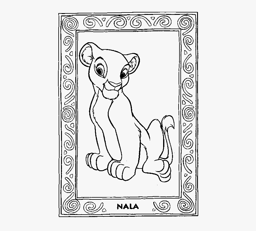 Nala Lion King Colouring Pages Hd Png Download Transparent Png Image Pngitem Download 2,800+ royalty free lion outline vector images. nala lion king colouring pages hd png