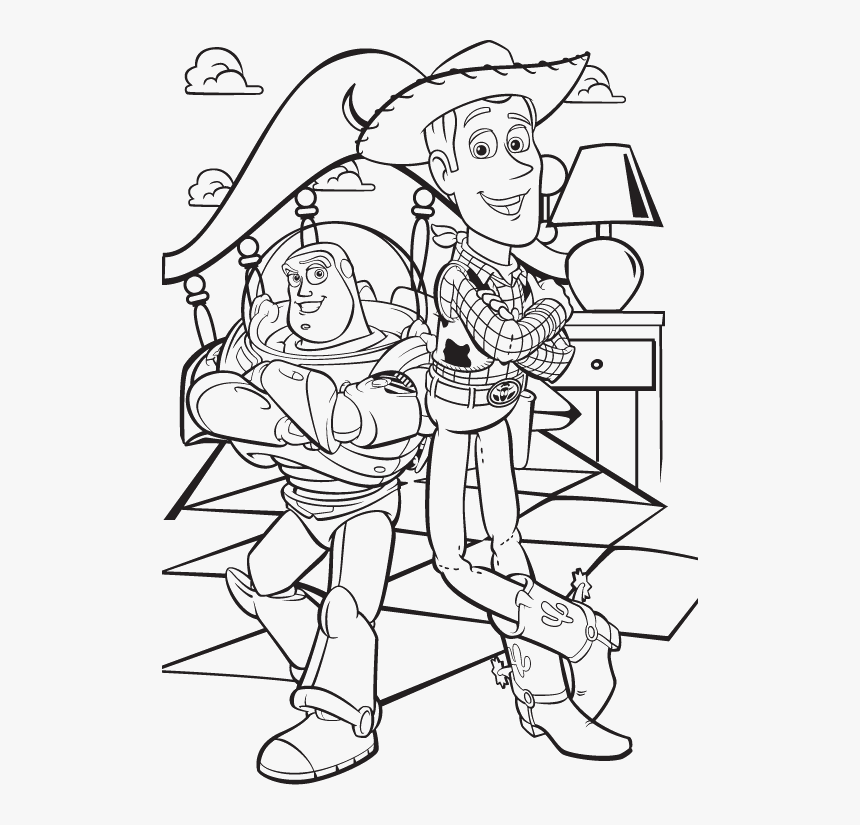 Toy Story 3 Coloring Pages Hd Png Download Transparent Png Image Pngitem