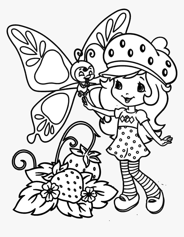 Desenhos Para Colorir Moranguinho Hd Png Download Transparent
