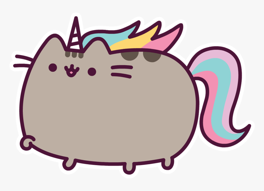 Pusheen Cat Unicorn Gif, HD Png Download , Transparent Png ...