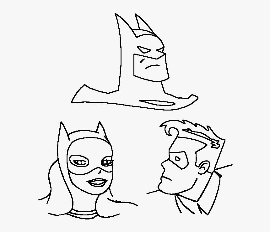 Desenho Gratis Do Batman Para Colorir Batman And Robin Coloring