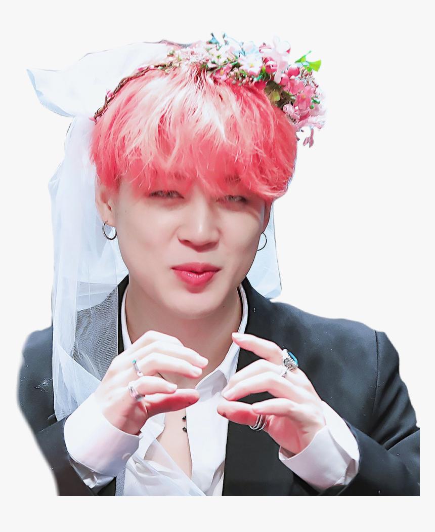 Flower Crown Bts Jimin Fansign Hd Png Download Transparent Png Image Pngitem