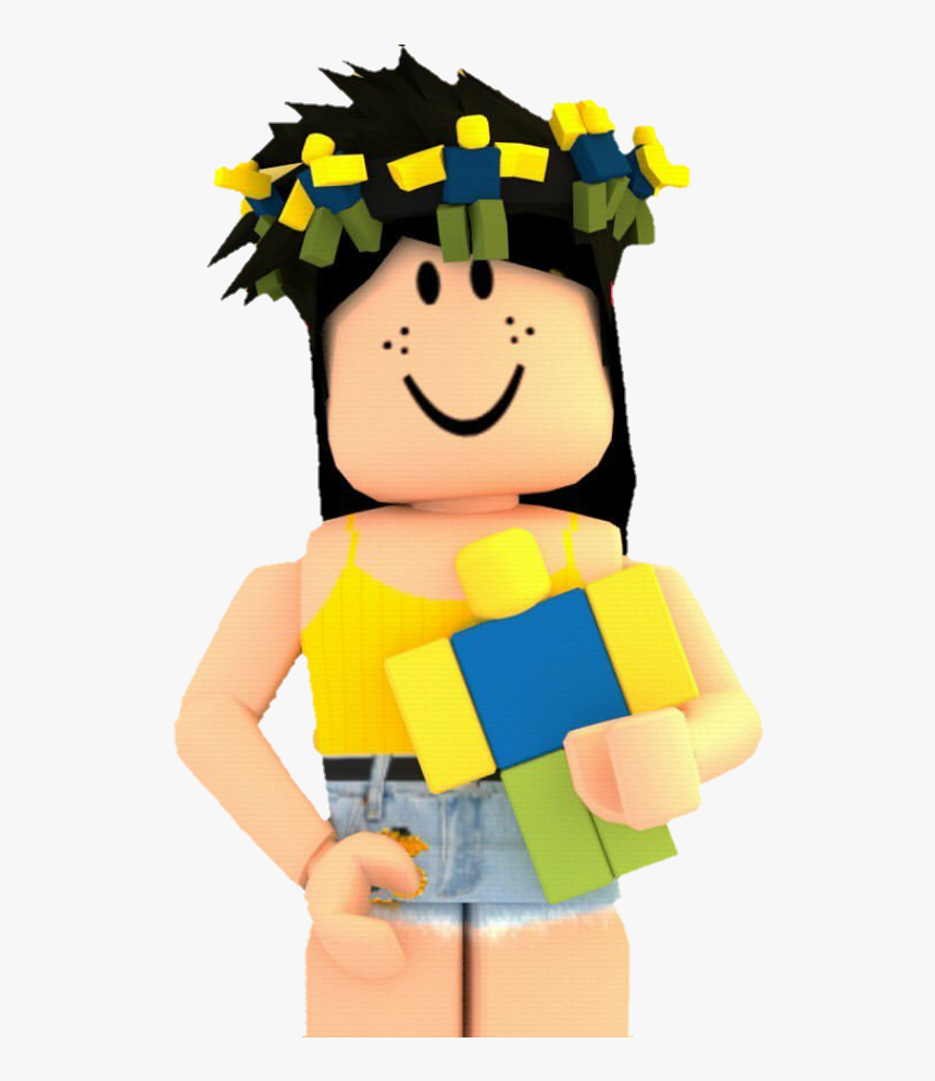 Roblox Girl Avatar With No Face Roblox Girl Aesthetic Gfx Png Transparent Png Transparent Png