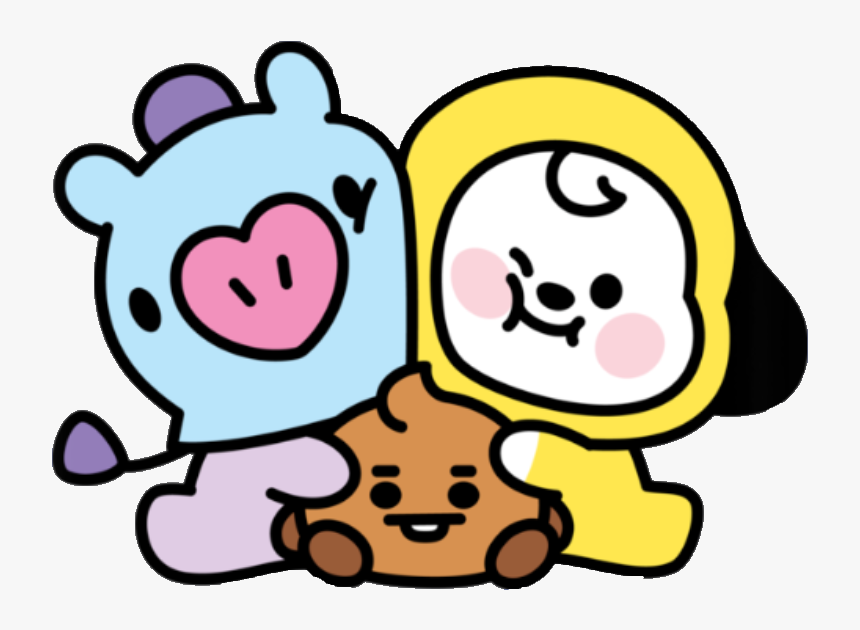 #mang #chimmy #shooky #bt21 #baby - Bt21 Baby, HD Png ...