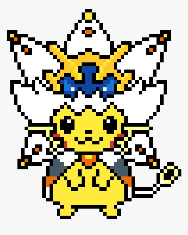 Solgaleo Pixel Art Pokemon Hd Png Download Transparent Png Image Pngitem