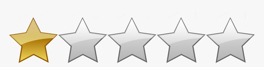 Watch On A Plus Tv 1 Star Rating Png Transparent Png