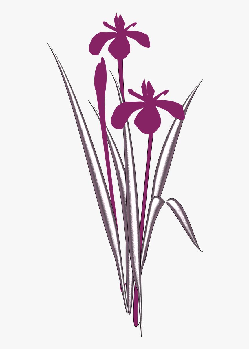 Iris Flower Clip Art
