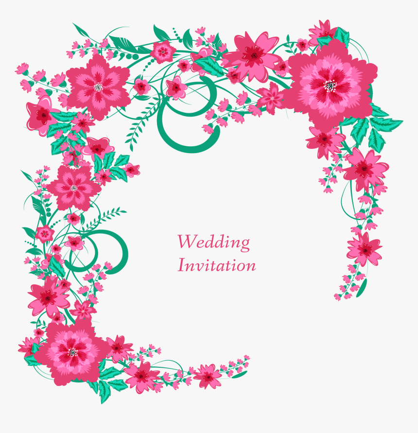 Transparent Bridal Shower Flower Clipart Wedding