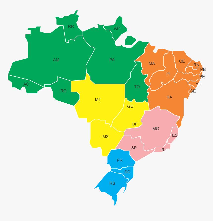 Mapa fo brasil