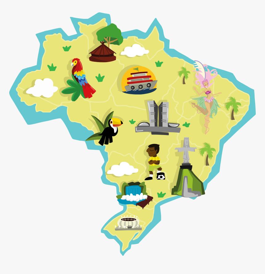 Foto mapa do brasil