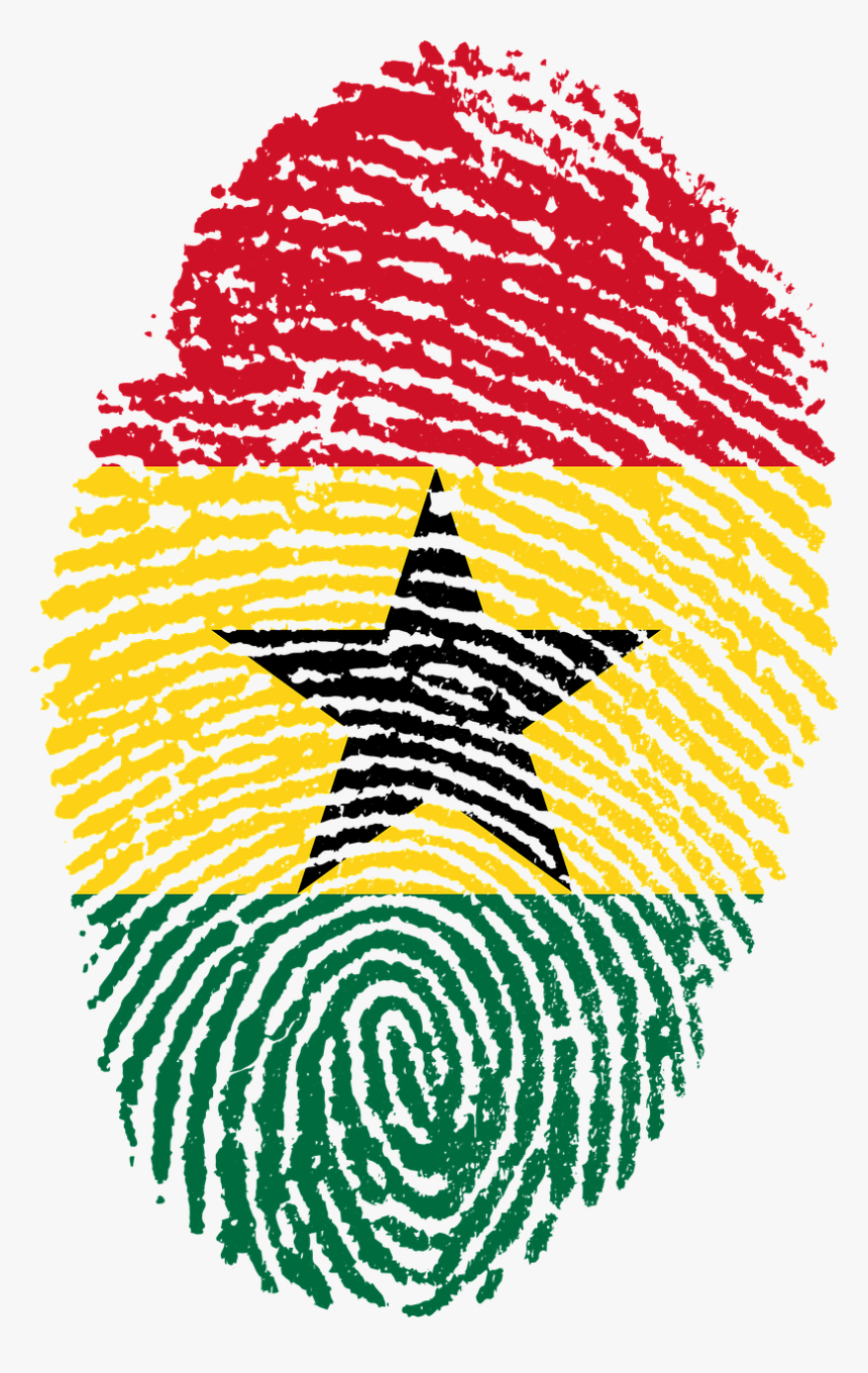Ghana Flag Fingerprint Hd Png Download Transparent Png Image Pngitem