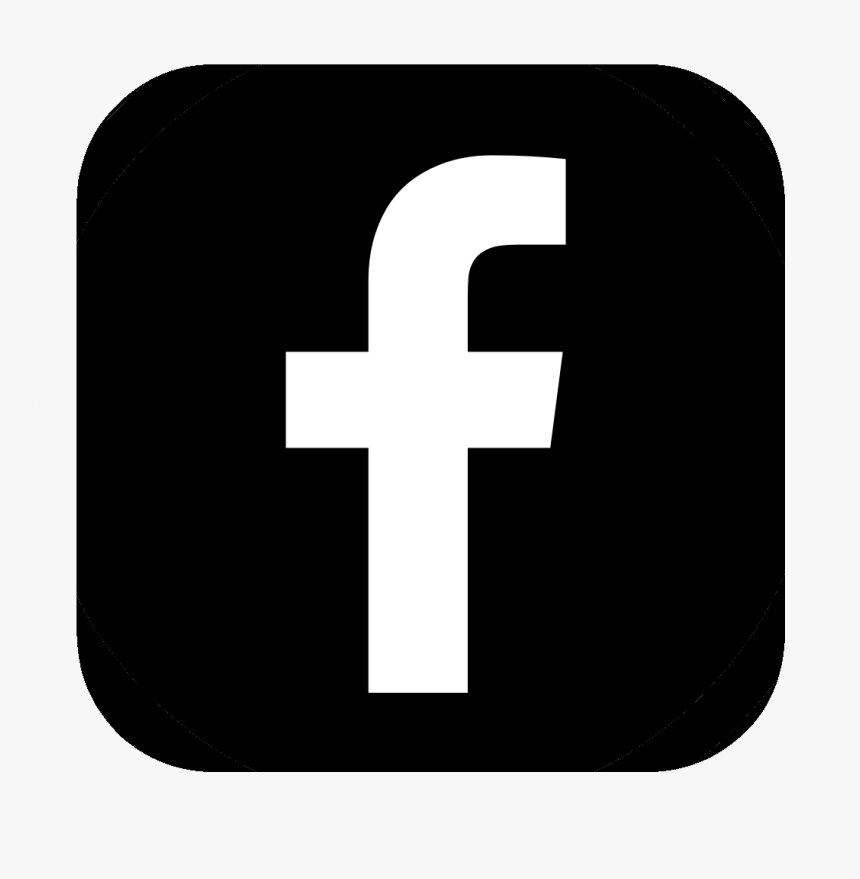 Facebook Icon Vector Black Clipart , Png Download - Logo Facebook ...
