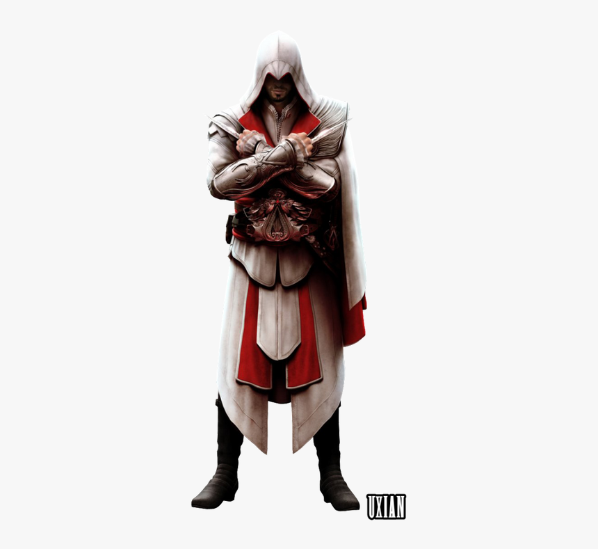 Ezio Auditore Assassins Creed Brotherhood Hd Png Download