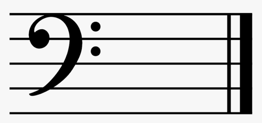 bass clef ledger lines