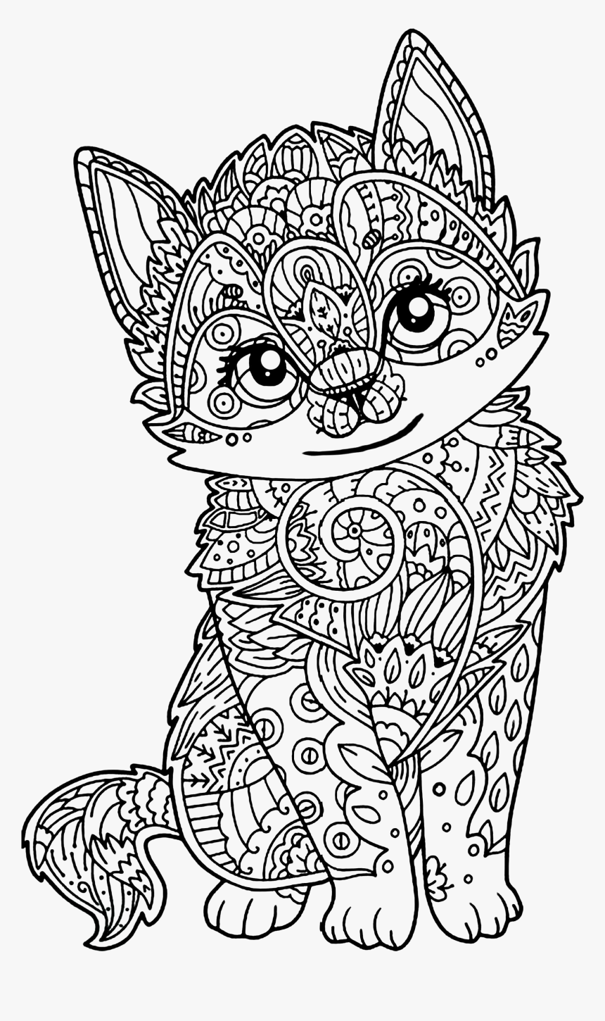 Cats Coloring Pages and Printable Activities 1 | 1450x860