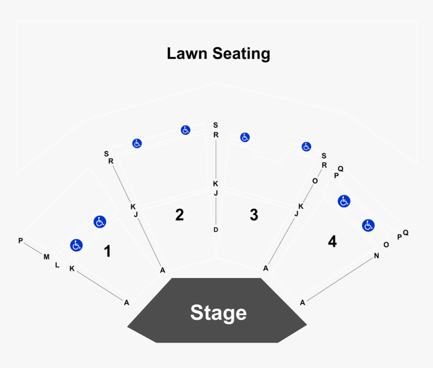 Gerald Ford Amphitheater Seating Chart Hd Png Download Transparent Png Image Pngitem