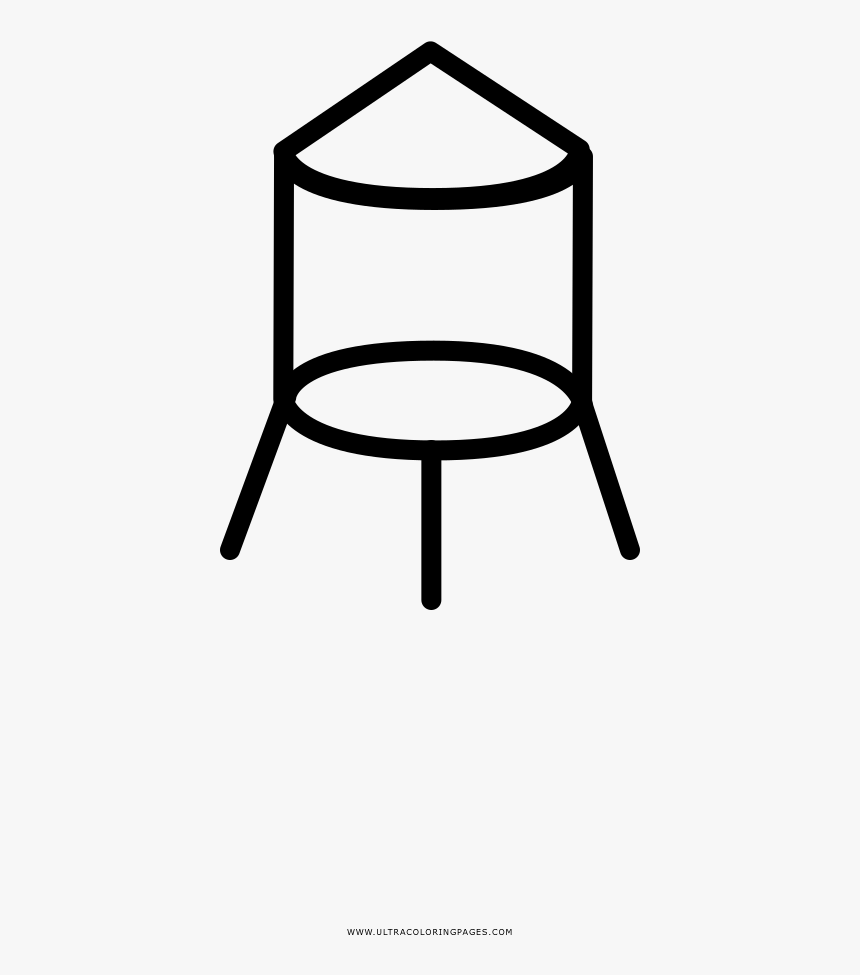 water tower coloring page chair hd png download transparent png image pngitem water tower coloring page chair hd