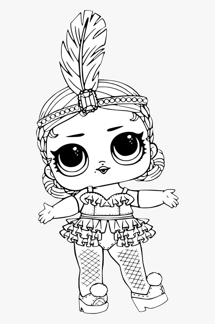 - L - O - L - Surprise Doll Png - Free Printable Coloring Pages Lol