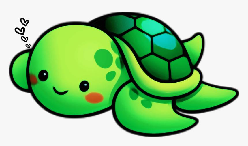 Transparent Cute Turtle Png Cartoon Sea Turtle Transparent