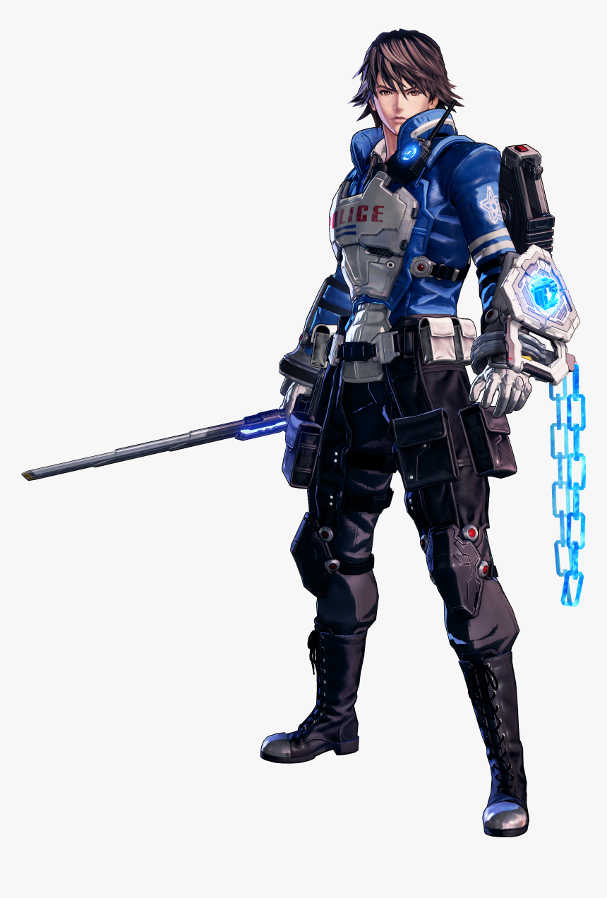 Astral Chain Wiki Astral Chain Main Character Hd Png Download Transparent Png Image Pngitem