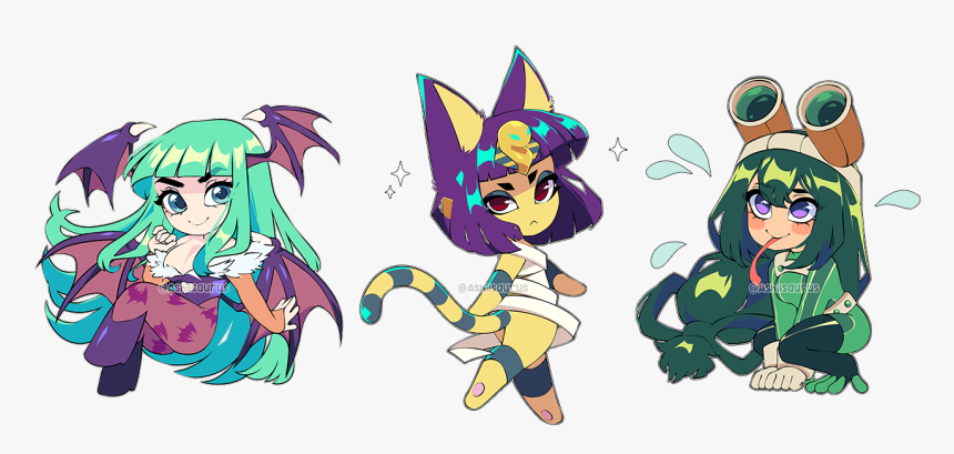 Morrigan Ankha Froppy Png Download Animal Crossing